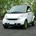 2013 smart electric drive front-view