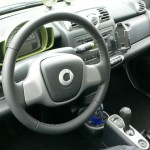 2013 smart electric drive interior