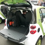 smart electric drive cargo space