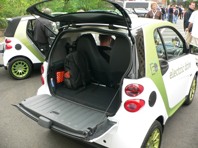 Smart Electric Drive Cargo Space Smart Electric Drive Forum