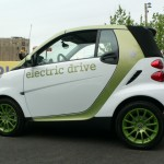 smart electric drive side view