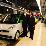 Smart ForTwo Electric Drive Assembly Completed