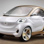 front view of the Smart Electric Drive concept